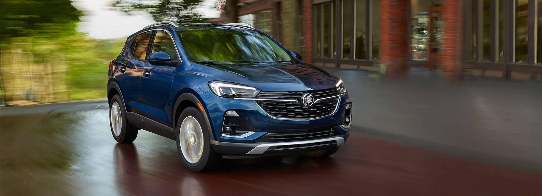 2020 Buick Encore GX Small SUV Front Grille Exterior