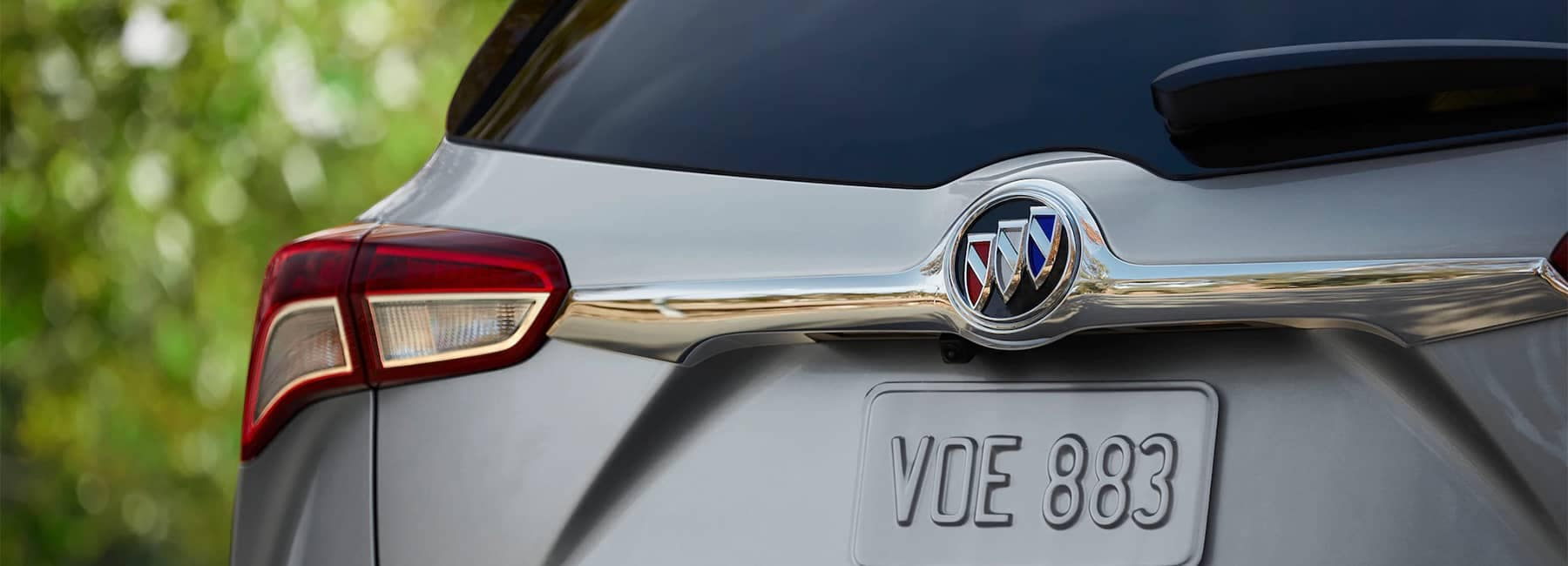 2020 Buick Envision Compact SUV Rear Liftgate Close Up