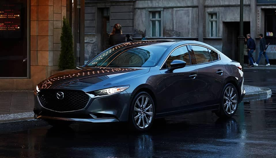 Mazda3 on street