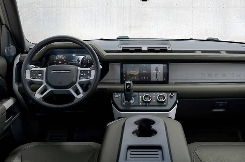 Land Rover interior dash