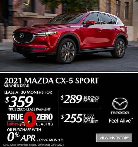 CX5 Sport Lease Special