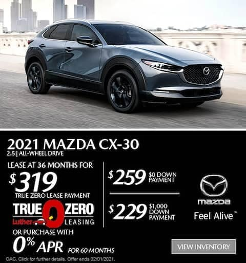 cx30 Lease Special