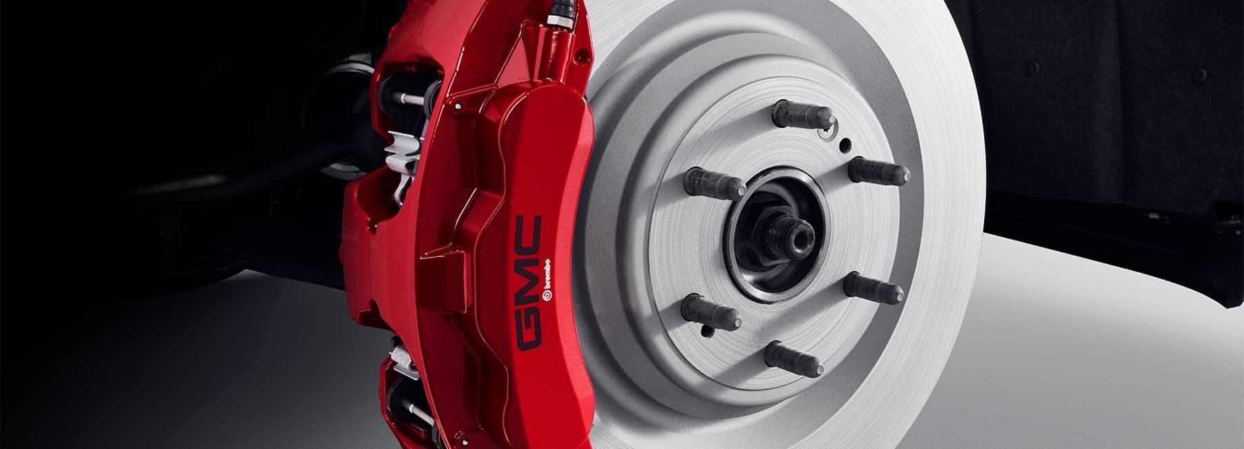 2021 GMC Yukon brakes