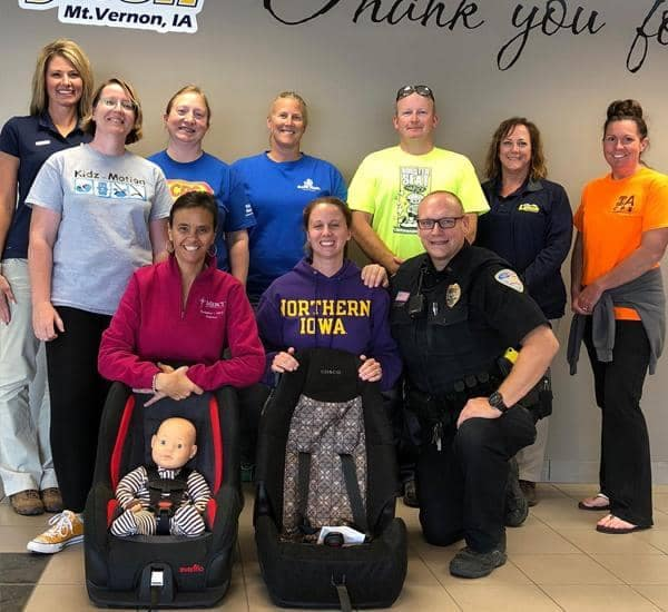 CHILD SAFETY SEAT EVENT