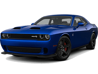 A blue 2019 Dodge Challenger