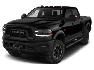 A black 2019 Ram 2500