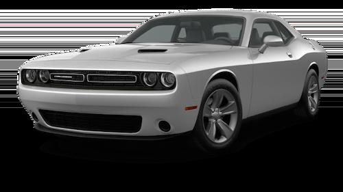 A silver 2019 Dodge Challenger SXT