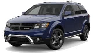 A blue 2019 Dodge Journey