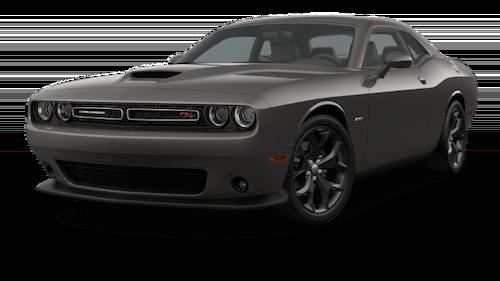 A black 2019 Dodge Challenger R/T