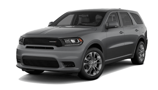 A grey 2019 Dodge Durango GT Plus
