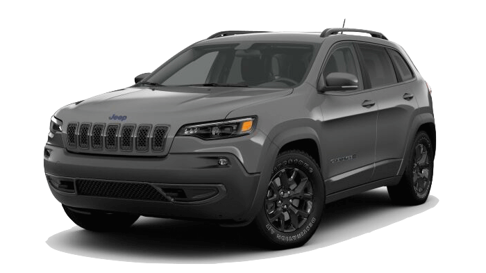 A grey 2019 Jeep Cherokee Upland