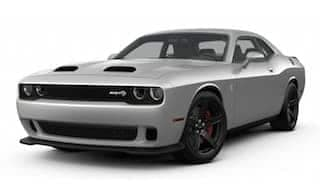 A silver 2019 Dodge Challenger