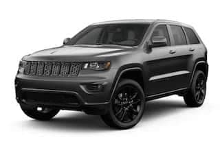 A gray 2019 Jeep Grand Cherokee