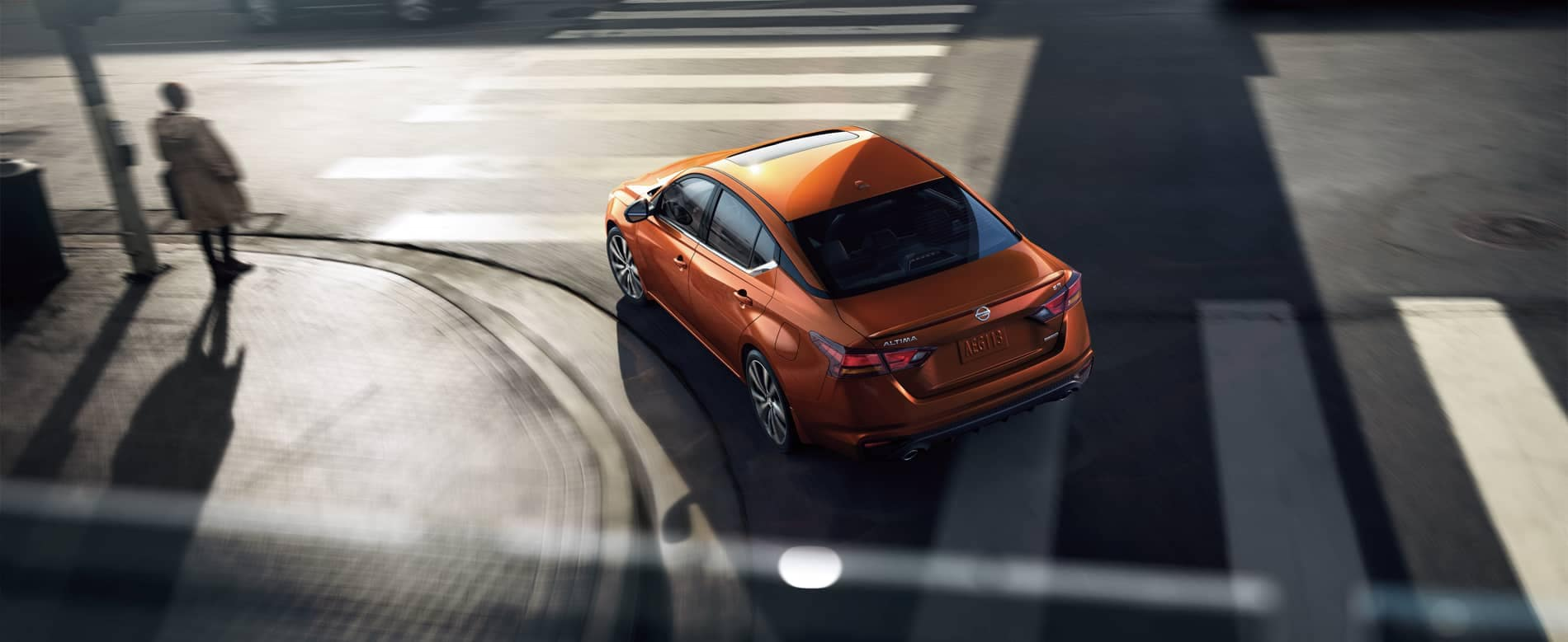 2020 Orange Nissan Altima