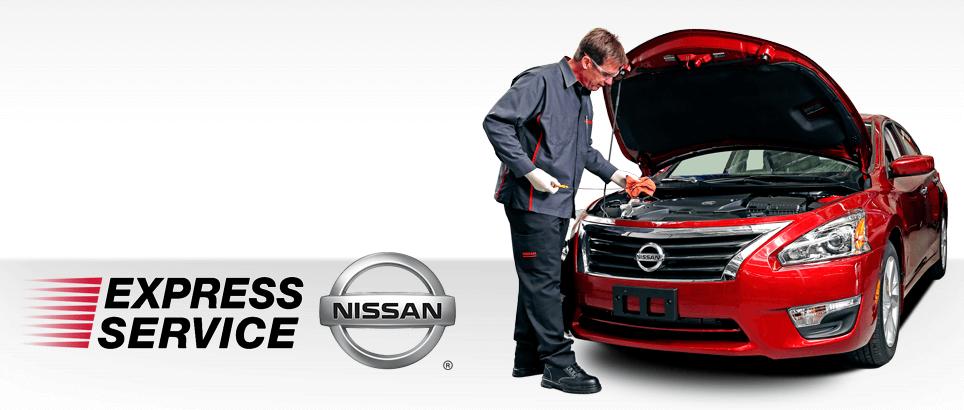 Nissan Express Service banner