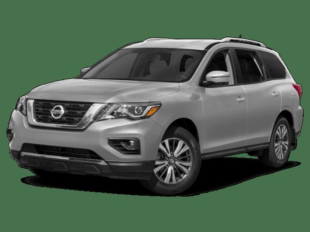 Silver Nissan Pathfinder