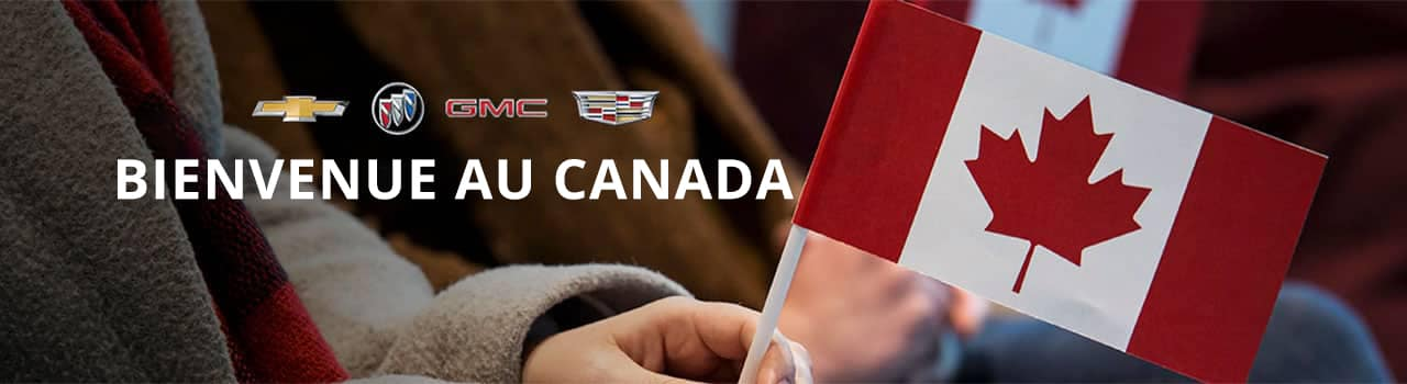 French - Welcome to canada banner