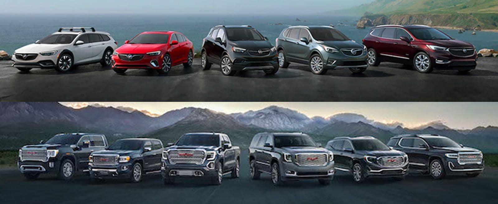 Buick GMC Vehicle Selection