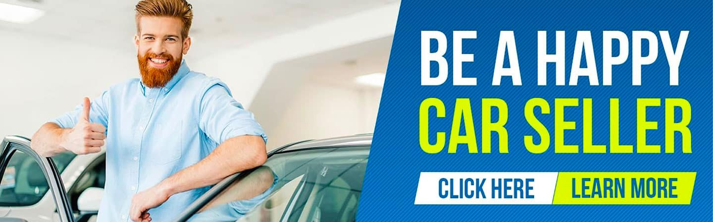 be a happy car seller