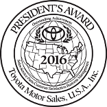 Toyota Award - Presidents Award
