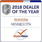 2018 Dealer Rater Dealer of Year Award