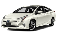 Toyota Prius Warranty & Maintenance Guide Cover