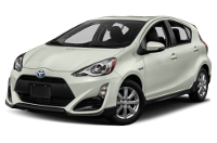 Toyota Prius c Warranty & Maintenance Guide Cover