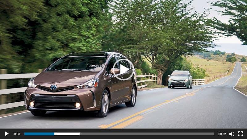 Toyota Prius v Video