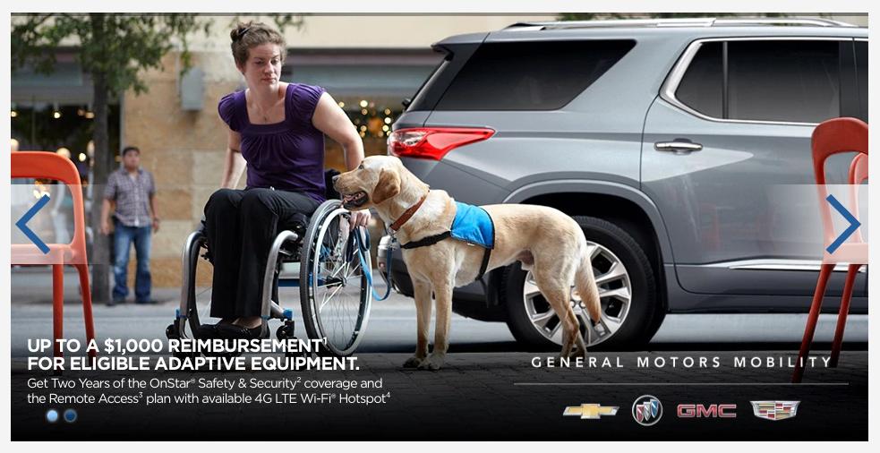 $1000 reimbursement for adaptive equipment