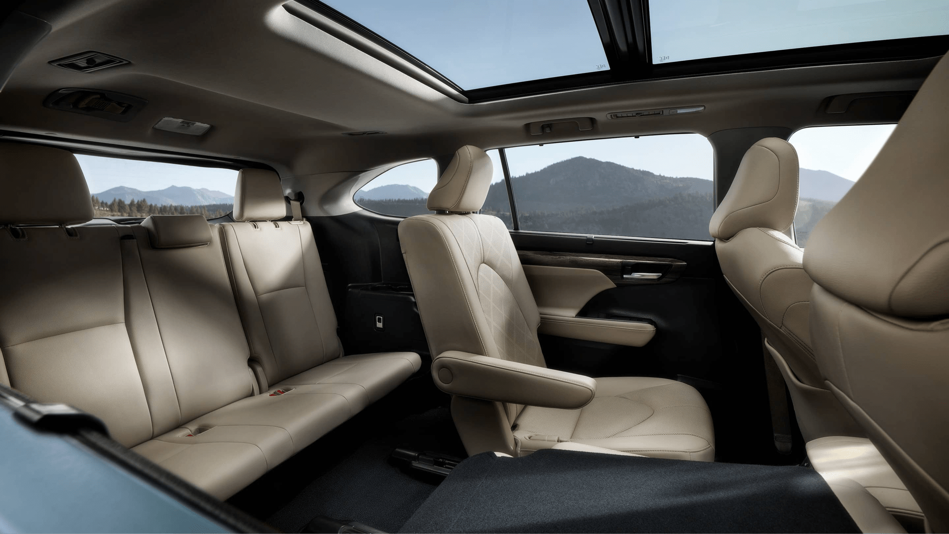 2020 Highlander leather seats