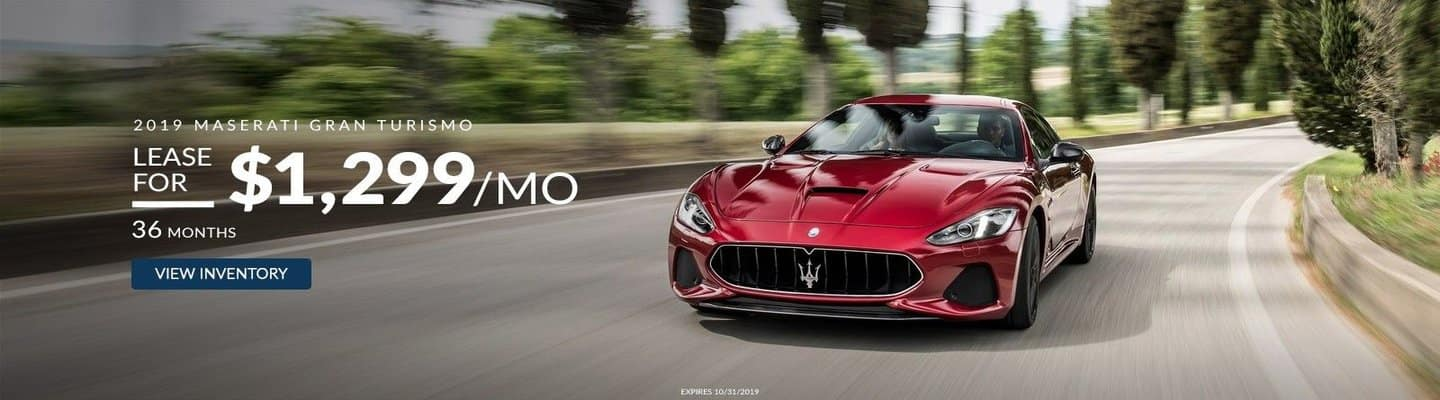 An image of a red 2019 Maserati GT fit