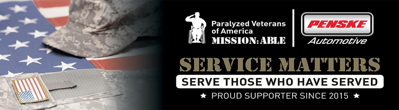Penske Auto Group military banner-PVA2019