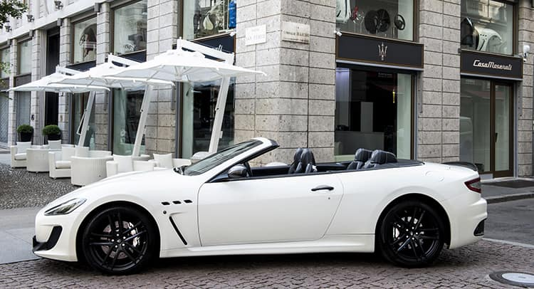 Maserati Opens An Exclusive Retail Store