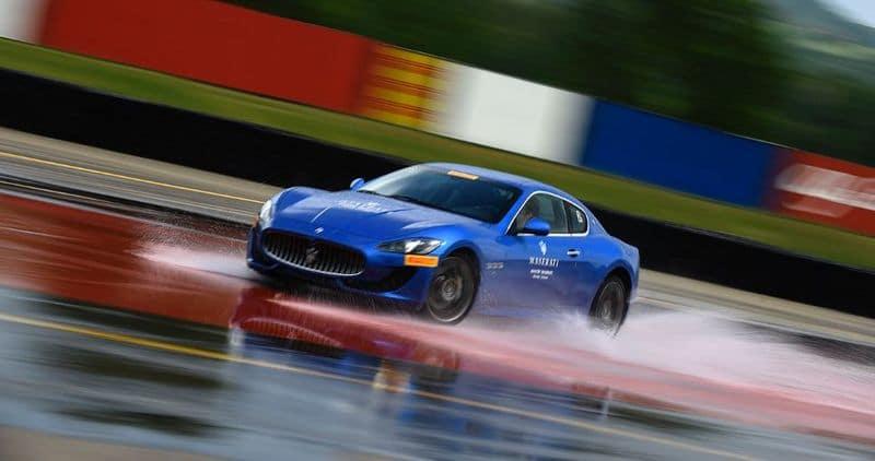 Maserati on the Track