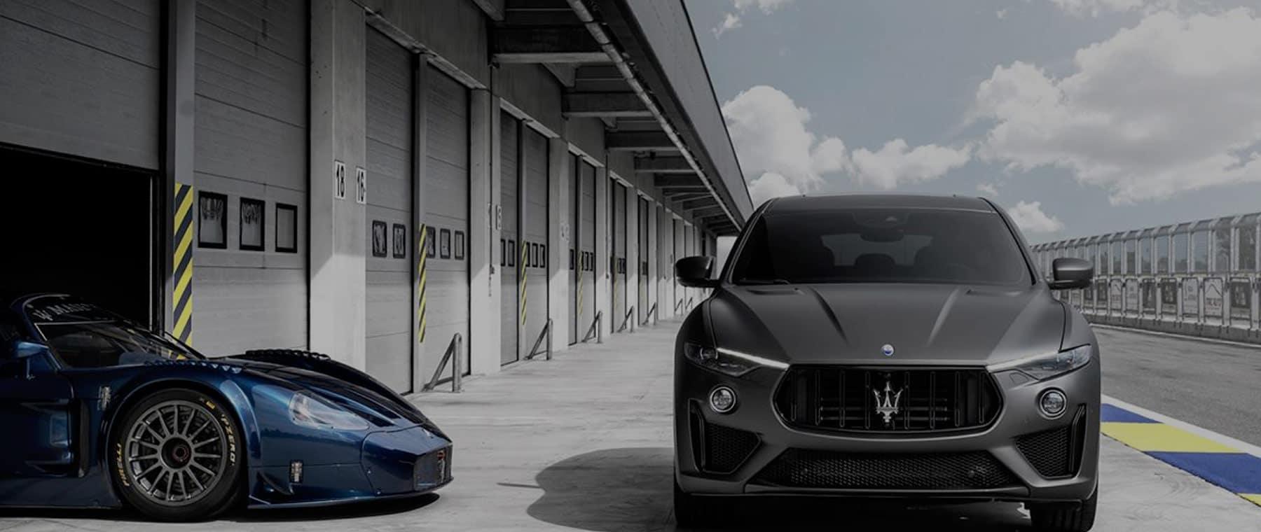 Maserati Street Car and Race Car