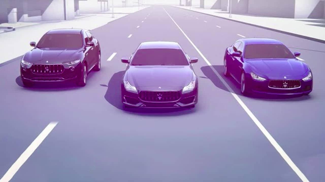 Autonomous Maserati Vehicles