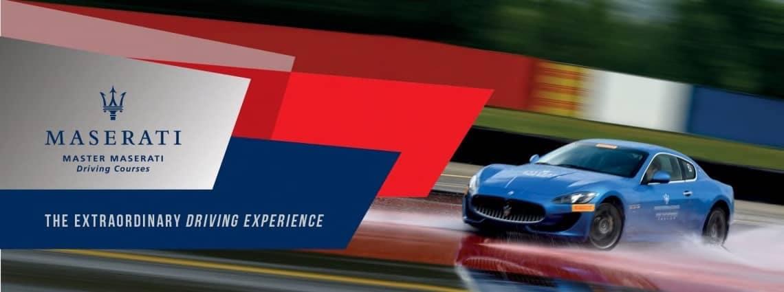 2017 Maserati Driving Experience
