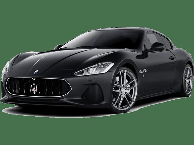 Angled view of the Maserati GranTurismo