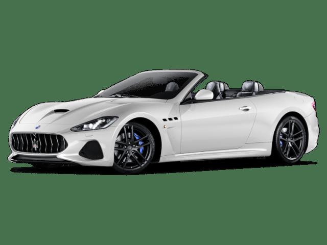 Angled view of the Maserati GranTurismo Convertible