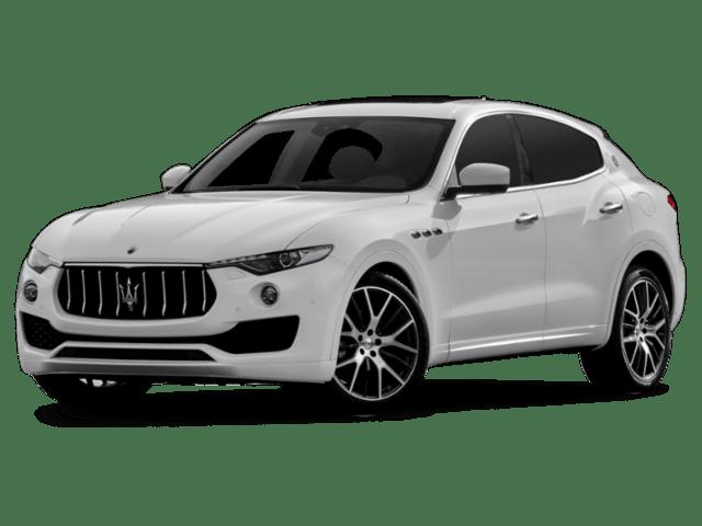 Angled view of the Maserati Levante