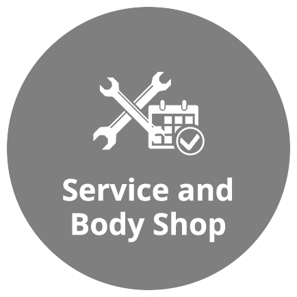 service and body shop icon homepage
