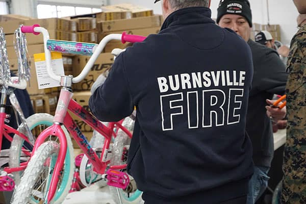 Burnesville Fire
