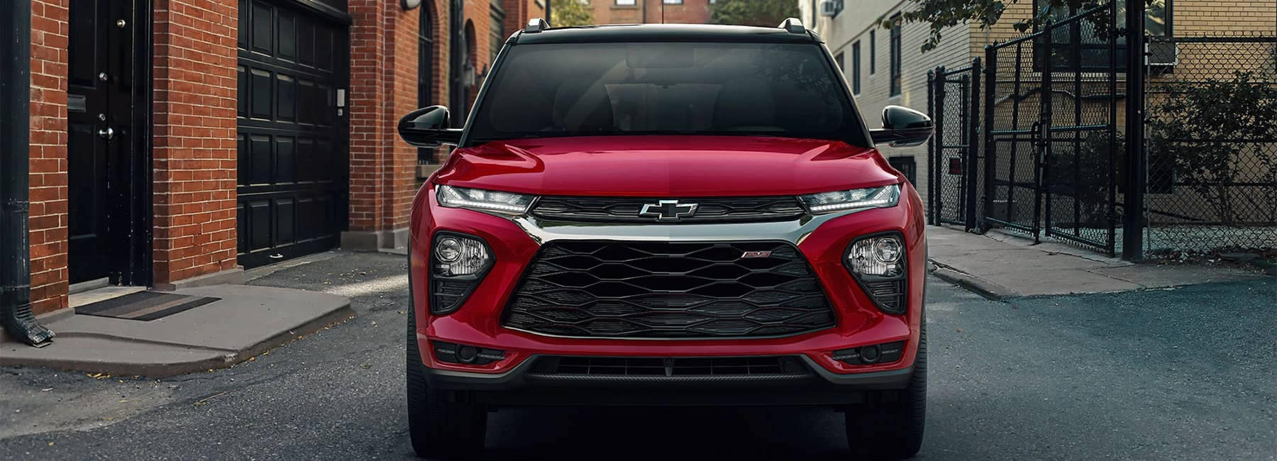 2021 Chevy Trailblazer Parked Front View