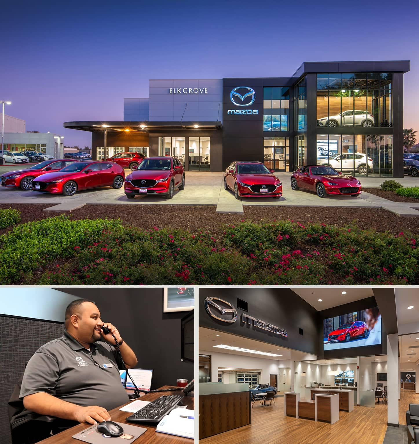 Mazda of Elk Grove Sales Department