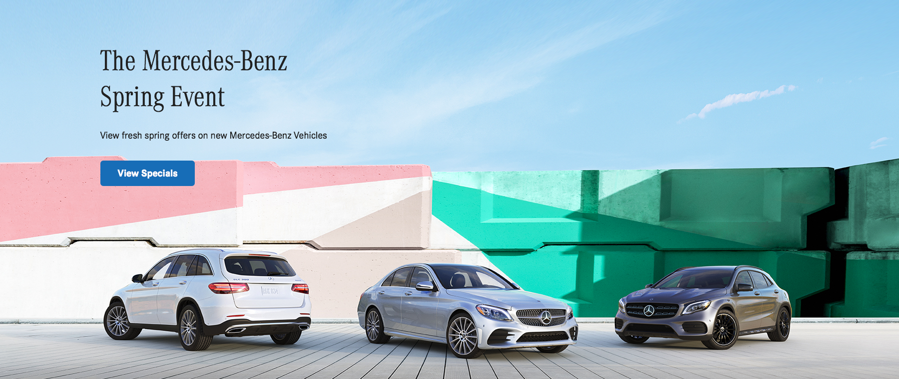 The Mercedes-Benz Spring Event