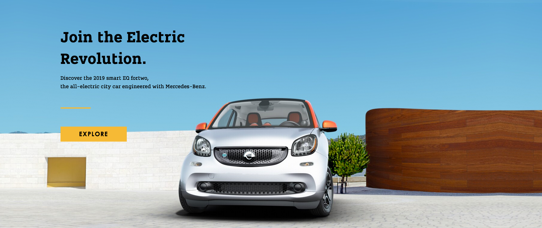 Join the Electric Revolution 2019 smart EQ fortwo