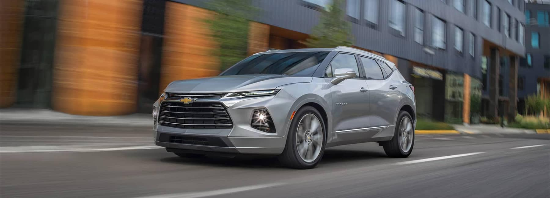 2019 Chevrolet Blazer Driving Down City Street