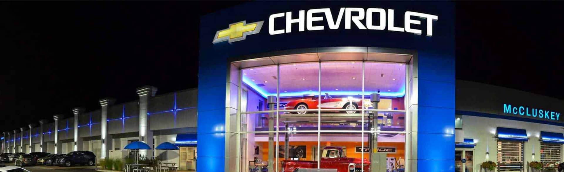 Mccluskey Chevrolet Cincinnati Oh New And Used Auto Dealership