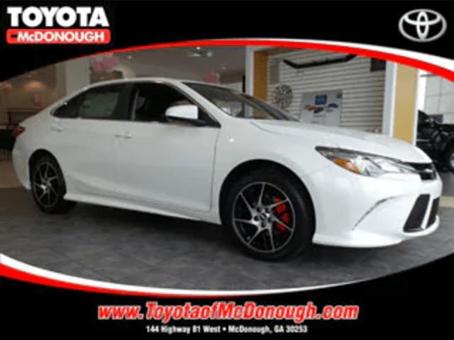 Toyota Camry SE Rental