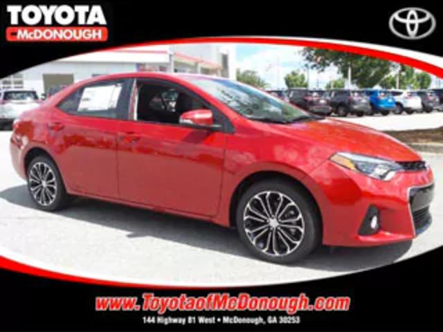 Toyota Corolla S Plus Rental